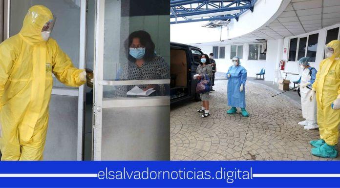 Paciente de 50 años vence el COVID-19 y es dada de alta esta tarde del ISSS Amatepec