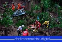 Última Hora  Se informa la localización de los siete cuerpos de la familia soterrada por un alud de tierra en Santo Tomas