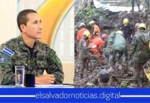 Ministro de Defensa felicita a todos los equipos y instituciones por el arduo trabajo que están realizando para proteger la vida de los salvadoreños