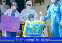 Un total de 33 salvadoreños se recuperaron satisfactoriamente del COVID-19 en las últimas horas