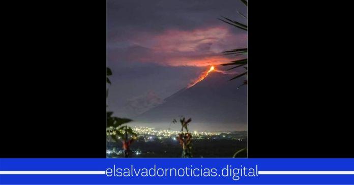 Explosión del Volcán de Fuego en Guatemala, pone en alerta a las autoridades