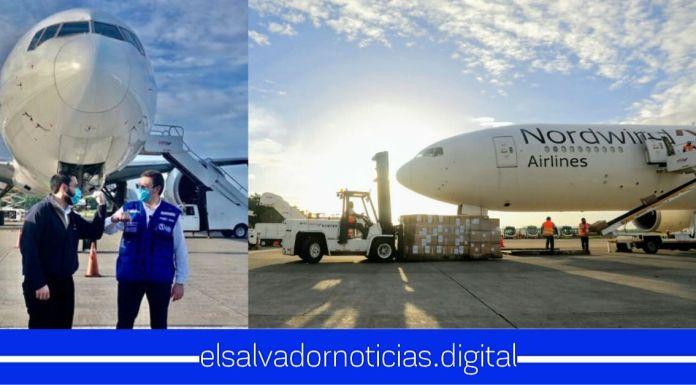 OMS dona a El Salvador insumos de protección para personal de salud que combaten el COVID-19