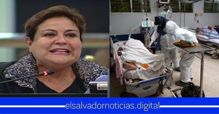 Margarita Escobar muestra total ignorancia con la mortal enfermedad, afirmando que El Salvador SIEMPRE ha sido experto en detener pandemias