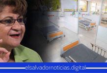 Violeta Menjívar tergiversa información de la construcción del hospital en CIFCO y exige verlo funcionando ya con las 1.000 UCI, a pesar que el FMLN dejó 30 en su gestión en todo el país
