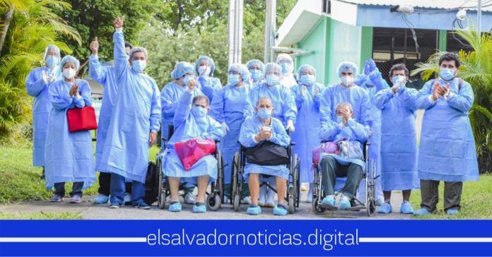 Doce salvadoreños fueron dados de alta este día, tras vencer el COVID-19Doce salvadoreños fueron dados de alta este día, tras vencer el COVID-19
