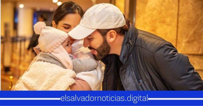 Primera Dama, Gabriela de Bukele externa lindo mensaje a su amado esposo en el Día del Padre