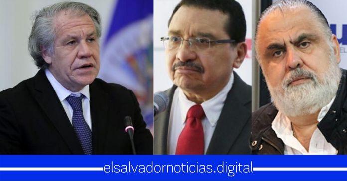 FMLN y ARENA atacan hasta ofender descaradamente al Secretario General de la OEA, por desmentir que El Salvador se encuentre en dictadura