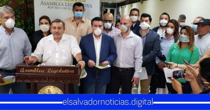 ARENA exige escuchar a «expertos» para afirmar si existe o no emergencia en El Salvador