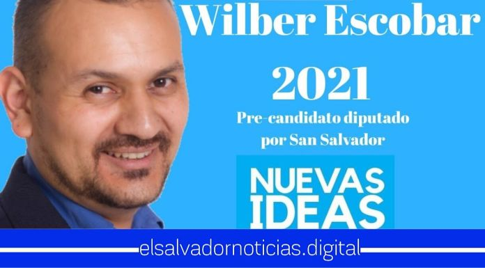 Wilber Escobar recibe completo apoyo de capitalinos al lanzarse como Precandidato a Diputado por San Salvador
