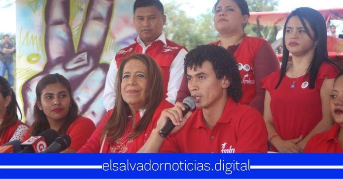 FMLN afirma que con la juventud de su partido cambiarán al país en las próximas elecciones
