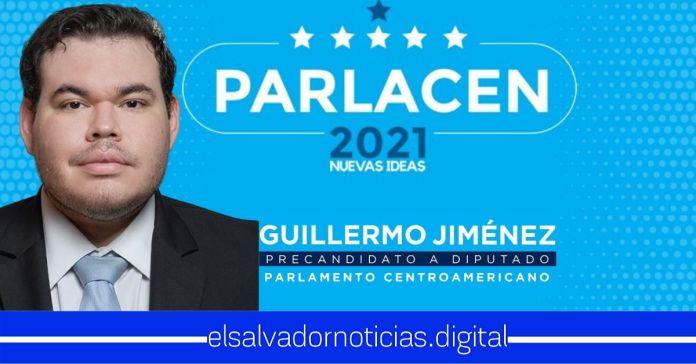 Guillermo Jiménez Sandoval Precandidato a PARLACEN por Nuevas Ideas que construirá una real integración centroamericana