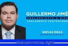 Guillermo Jiménez Sandoval comprometido a cambiar la realidad política de El Salvador y Centroamérica desde el PARLACEN