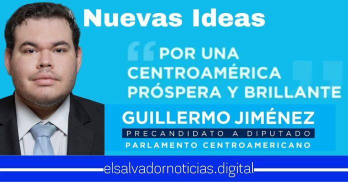 Guillermo Jiménez Sandoval, Precandidato a Diputado al PARLACEN comprometido a crear una verdadera integración centroamericana