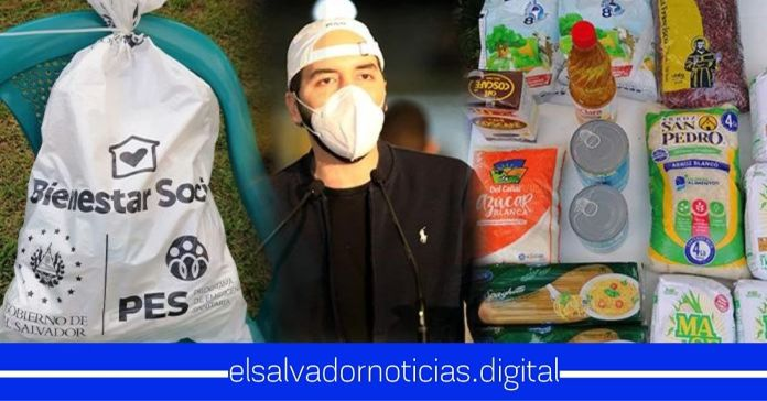 Salvadoreños demuestran con pruebas a LPG que los paquetes alimentarios que entrega el Gobierno NO están vencidos