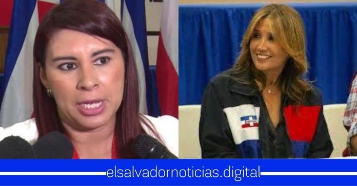 Tita Batres defiende a Claudia de Ávila, secundando su idea de llamar «perros» a los salvadoreños