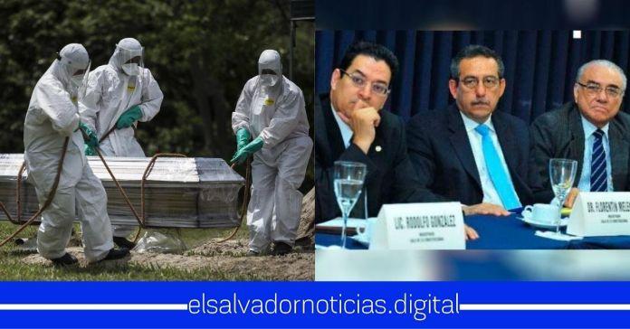Salvadoreños afirman que demandarán a la Sala de lo Constitucional por cada familiar fallecido a causa del CoronavirusSalvadoreños afirman que demandarán a la Sala de lo Constitucional por cada familiar fallecido a causa del Coronavirus