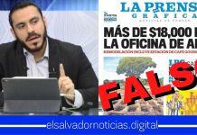 Ministro Alabi desmiente información de LPG y lamenta que desinforme a la población salvadoreña mientras se enfrenta una pandemia