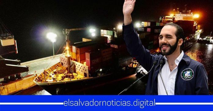 Nuevo buque repleto con alimentos llega a El Salvador para continuar con la segunda entrega de paquetes casa por casa