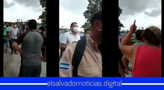 ¡Alcalde BASURA! ¡CORRUPTO, Devuelvan lo ROBADO!, así fue recibido el edil de Soyapango por los ciudadanos