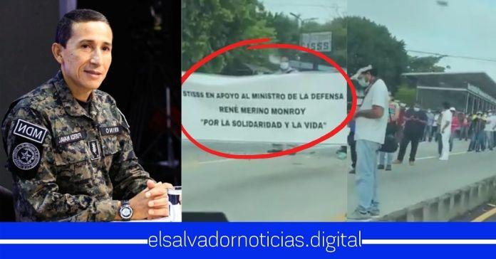 Salvadoreños ya se encuentran listos en camino a la Asamblea para apoyar al Ministro Monroy