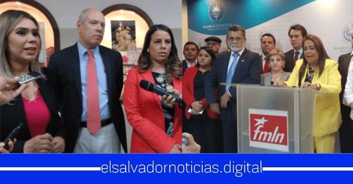Revelan que ARENA y el FMLN están discutiendo modificar sus banderas antes de las elecciones 2021