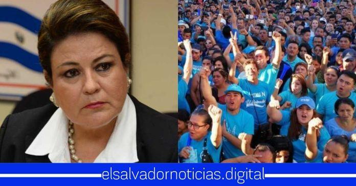 Margarita Escobar externa su temor hacia Nuevas Ideas, afirmando que el próximo año serán sacados de la Asamblea