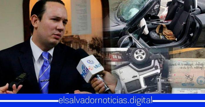 Diputado Magaña renuncia voluntariamente al fuero para someterse a la justicia salvadoreña