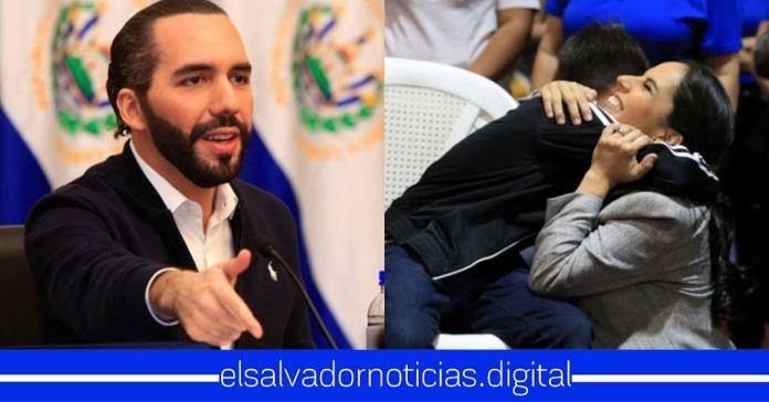 Presidente Bukele nombra a su esposa Gabriela de Bukele como La mejor Primera Dama en la historia de El Salvador
