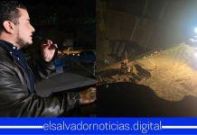 Obras Públicas se mantiene realizando labores de protección 24/7 en la Residencial Santa Lucía