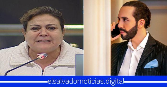 Margarita Escobar pide a los salvadoreños «abrir los ojos» ante Bukele por querer quebrar a El Salvador Margarita Escobar pide a los salvadoreños «abrir los ojos» ante Bukele por querer quebrar a El Salvador