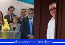FMLN guarda silencio sobre maletines negros que Funes entregaba al Legislativo y Rodolfo Parker