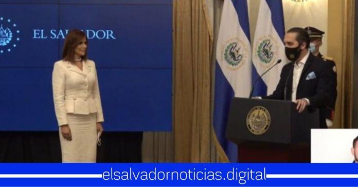 Presidente Nayib Bukele juramenta a Milena Mayorga como nueva Embajadora de El Salvador en EEUU