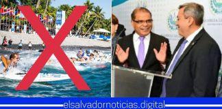 Oposición pide al Gobierno de EEUU cancelar mundial de surf en El Salvador con el fin de boicotear al país y recuperar el poder