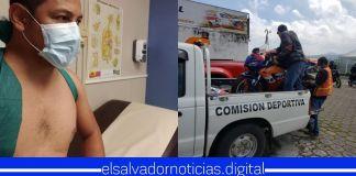 Leonardo Bonilla sufre aparatoso accidente mientras participaba en competencia de motocicletas
