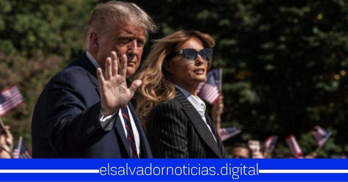 Presidente Donald Trump y su esposa Melania dan positivo a COVID-19