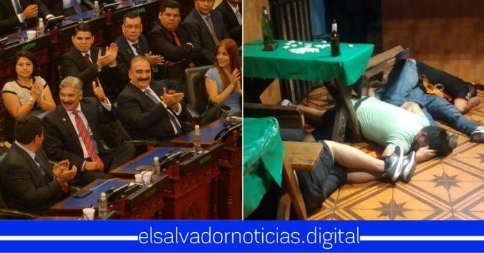 Diputados de ARENA y FMLN celebran alta de homicidios y lo utilizan para atacar al gobierno de Bukele