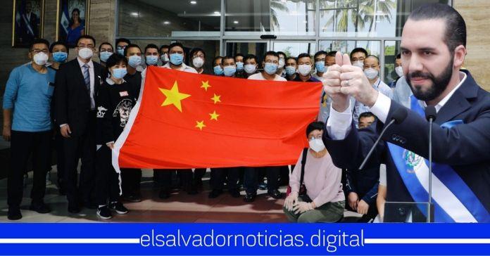 Llegan a El Salvador expertos de China que trabajarán en potabilización del lago de Ilopango