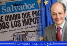 Unión Europea elogia la credibilidad y veracidad de Diario El Salvador, con la cual informa a los salvadoreños