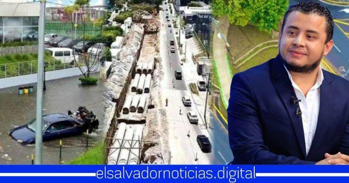 Gobierno finaliza sistema urbano de drenaje sostenible para reducir inundaciones en Bulevar Merliot