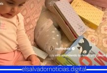 Familia Presidencial comparte el tierno video de Layla aprendiendo las letras del abecedario