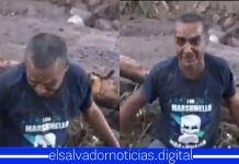 #VIDEO Desgarrador momento vive este padre de familia quien busca a sus hijos bajos los escombros del deslave en Nejapa
