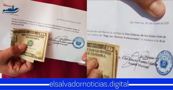 Alcalde de San Marcos pagó $10 dólares para sabotear al Gobierno