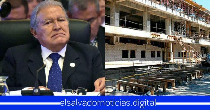 Sánchez Cerén desvió $120 millones durante construcción del Hospital de San Miguel