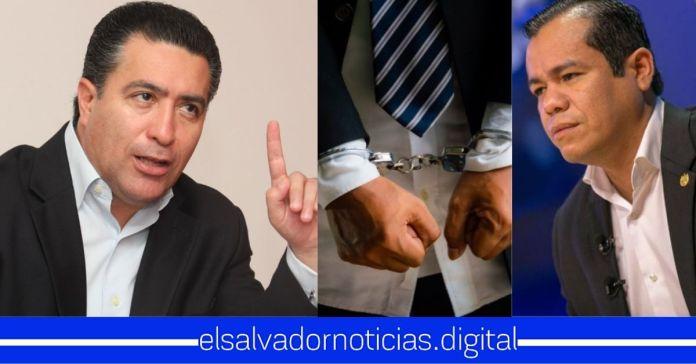 Portillo Cuadra amenaza al Ministro de Hacienda con llevarlo esposado a la Asamblea Legislativa