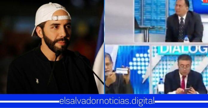 En plena entrevista, Portillo Cuadra y Schafik Handal reciben el mismo mensaje coordinando ataques contra el Gobierno