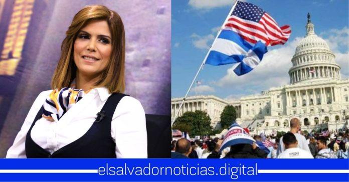 Milena Mayorga anuncia visas temporales de EEUU para salvadoreños