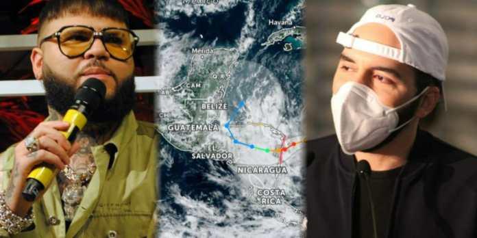 Cantante «Farruko» envía mensaje de esperanza a El Salvador y países hermanos ante llegada de huracán ETA