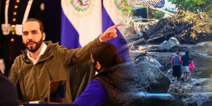Presidente Bukele promete a los damnificados en Nejapa y por tormentas Amanda y Cristobal tendran su nuevo hogar en menos de 4 meses