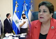 Margarita Escobar niega el derecho a defensa al Director de la PNC, esto luego de presentar su defensa por escrito.