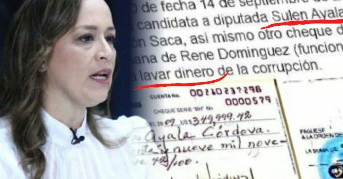 Se destapó la corrupción de Sulen Ayala candidata por el PDC a la Asamblea